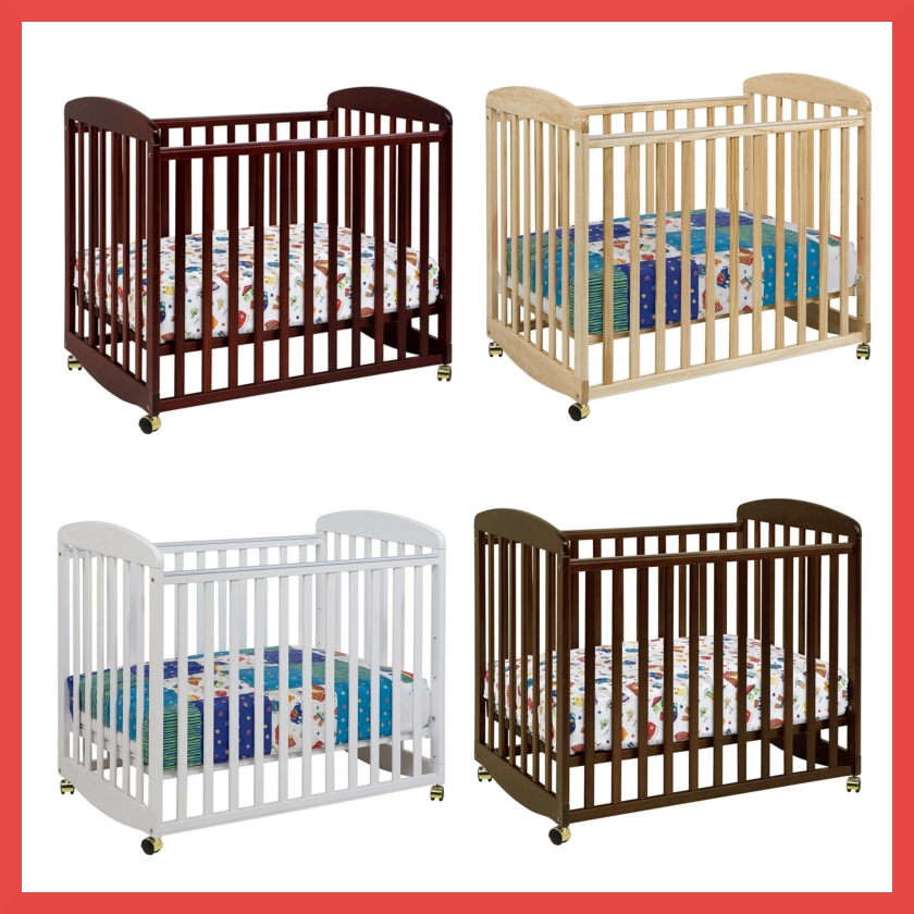 DaVinci Alpha Mini Crib Colors