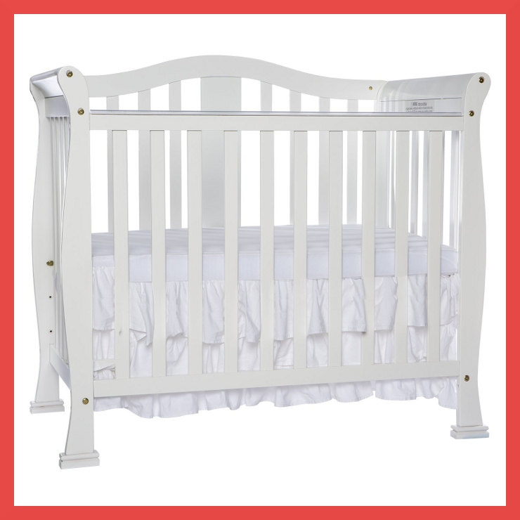 Dream On Me Addison Convertible Mini Crib Photo