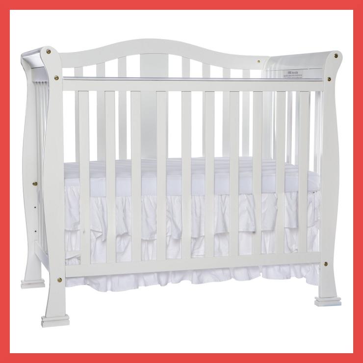 Dream On Me Addison Convertible Mini Crib Photo
