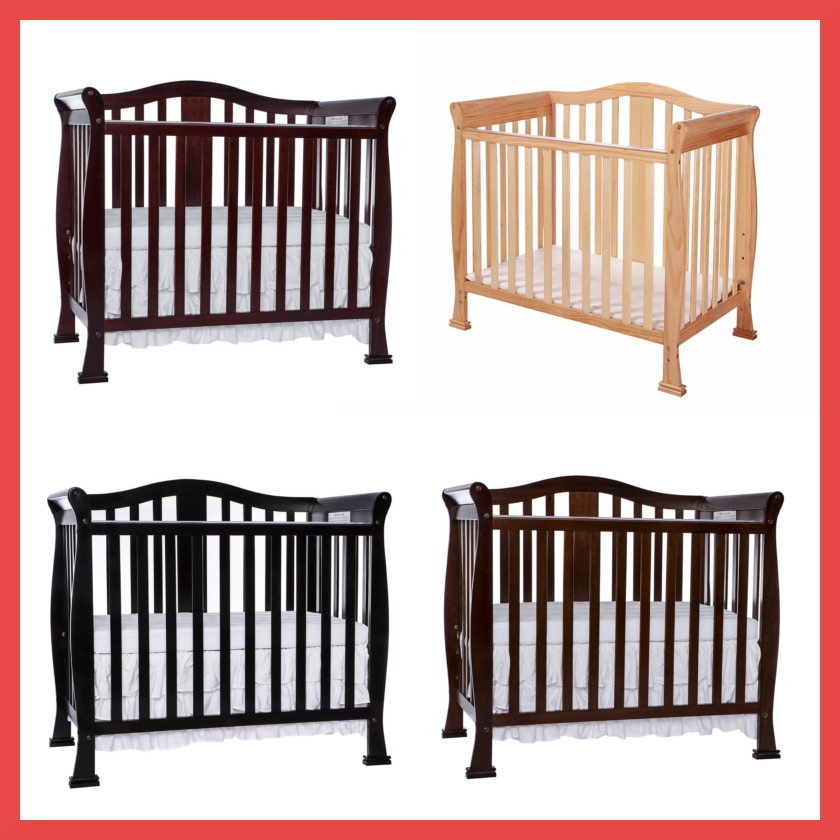 Dream On Me Addison Convertible Mini Crib Colors