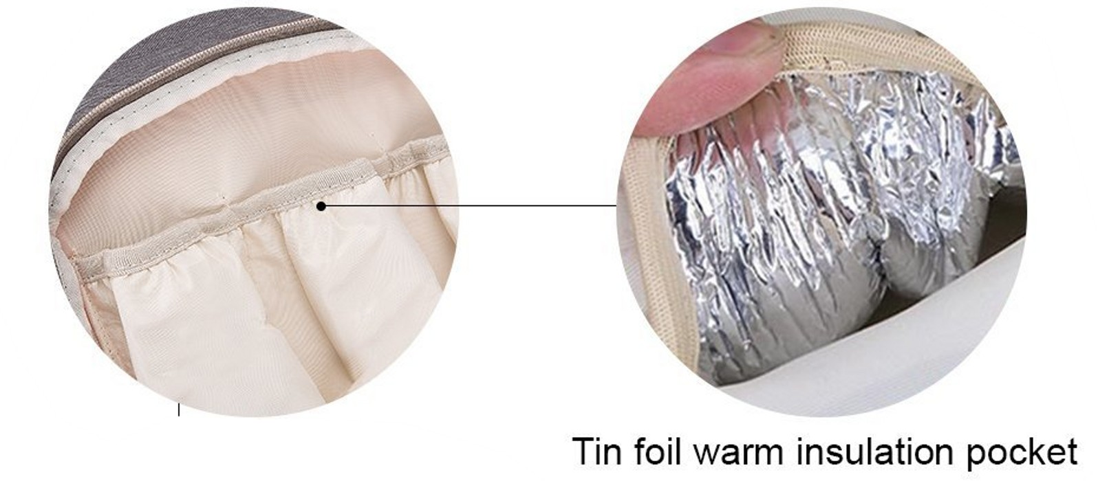 Lifecolor Diaper Bag Isolation Pocket