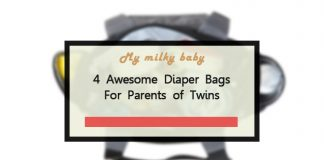 Best Diaper Bag for Twins and for Stylish Moms 2018 Reviews