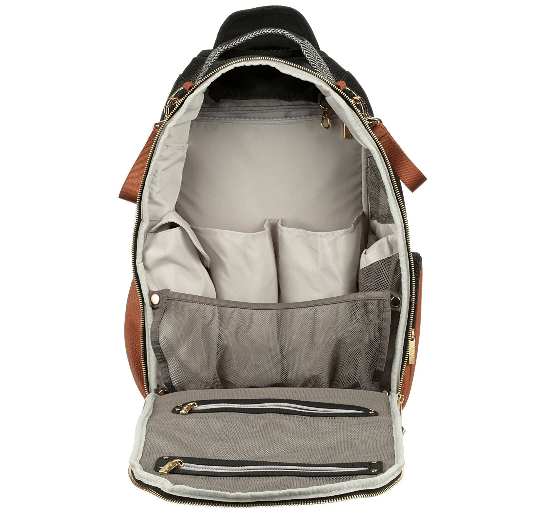 Itzy Ritzy Backpack Diaper Bag Inside