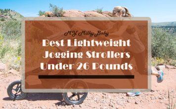 Best Lightweight Jogging Stroller Under 26 Pounds Header