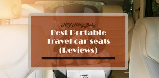 Find The Best Portable Car Seats For Travel Header