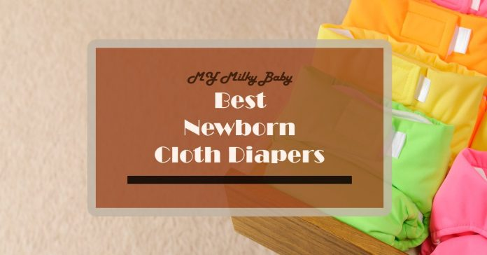 Best Cloth Diapers for Newborns and By Type Header