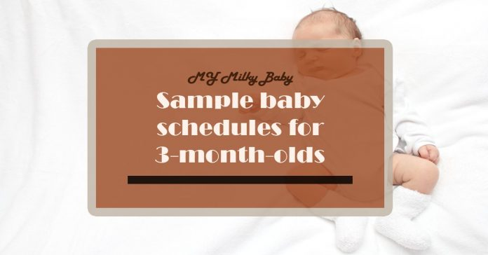 How a 3-Month-Old Nap Schedule Looks Like Header
