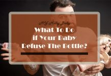 These Solutions Can Help When Your Baby Won't Take Bottle Anymore Header