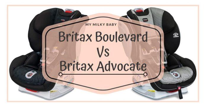 Britax Advocate Vs Boulevard ClickTight Convertible Car Seat Differences Header