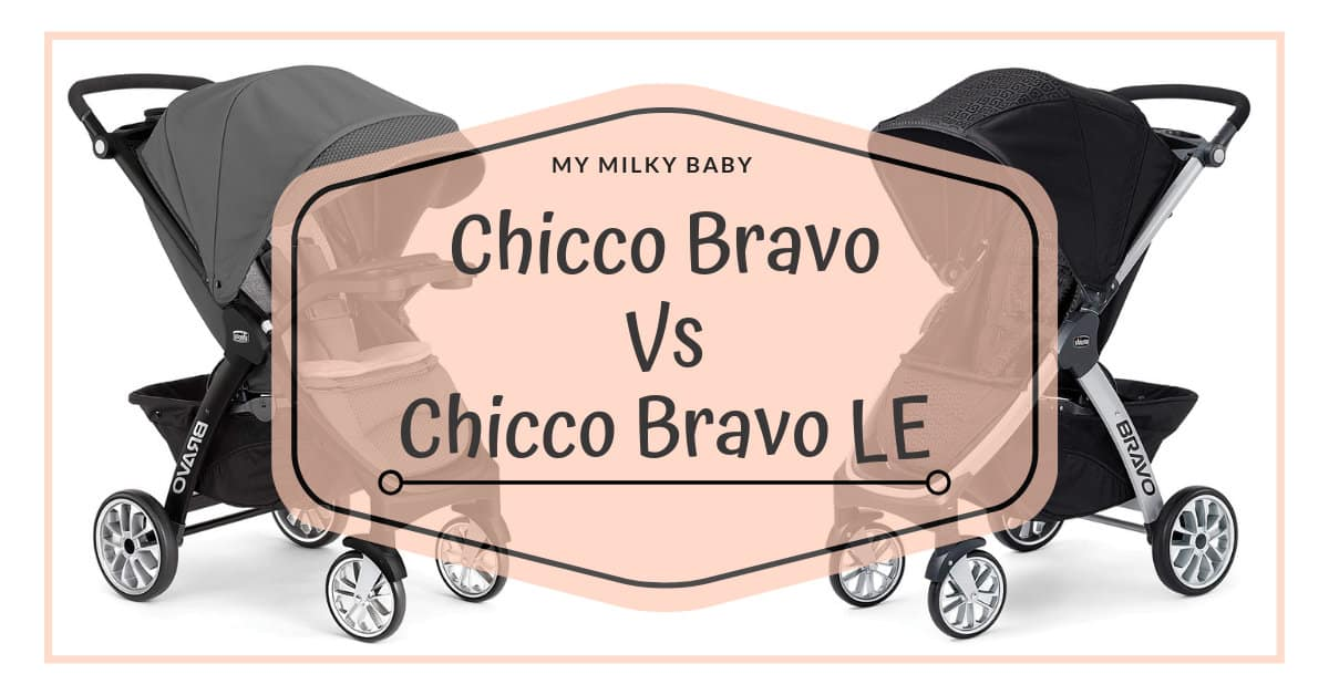 Chicco Bravo Vs Bravo LE Quick-Fold Strollers: Who is The ...
