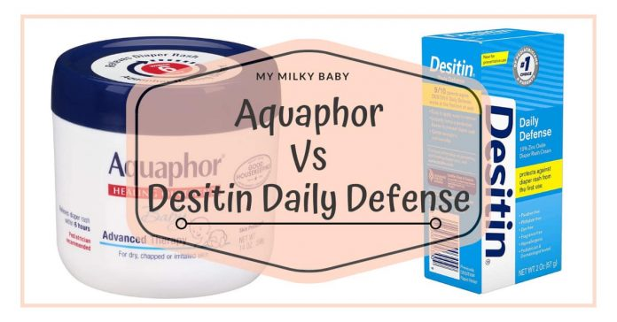 Soothing Diaper Rash Aquaphor vs Desitin Header